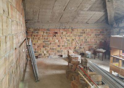 Етаж от къща Бояна - преди (1)